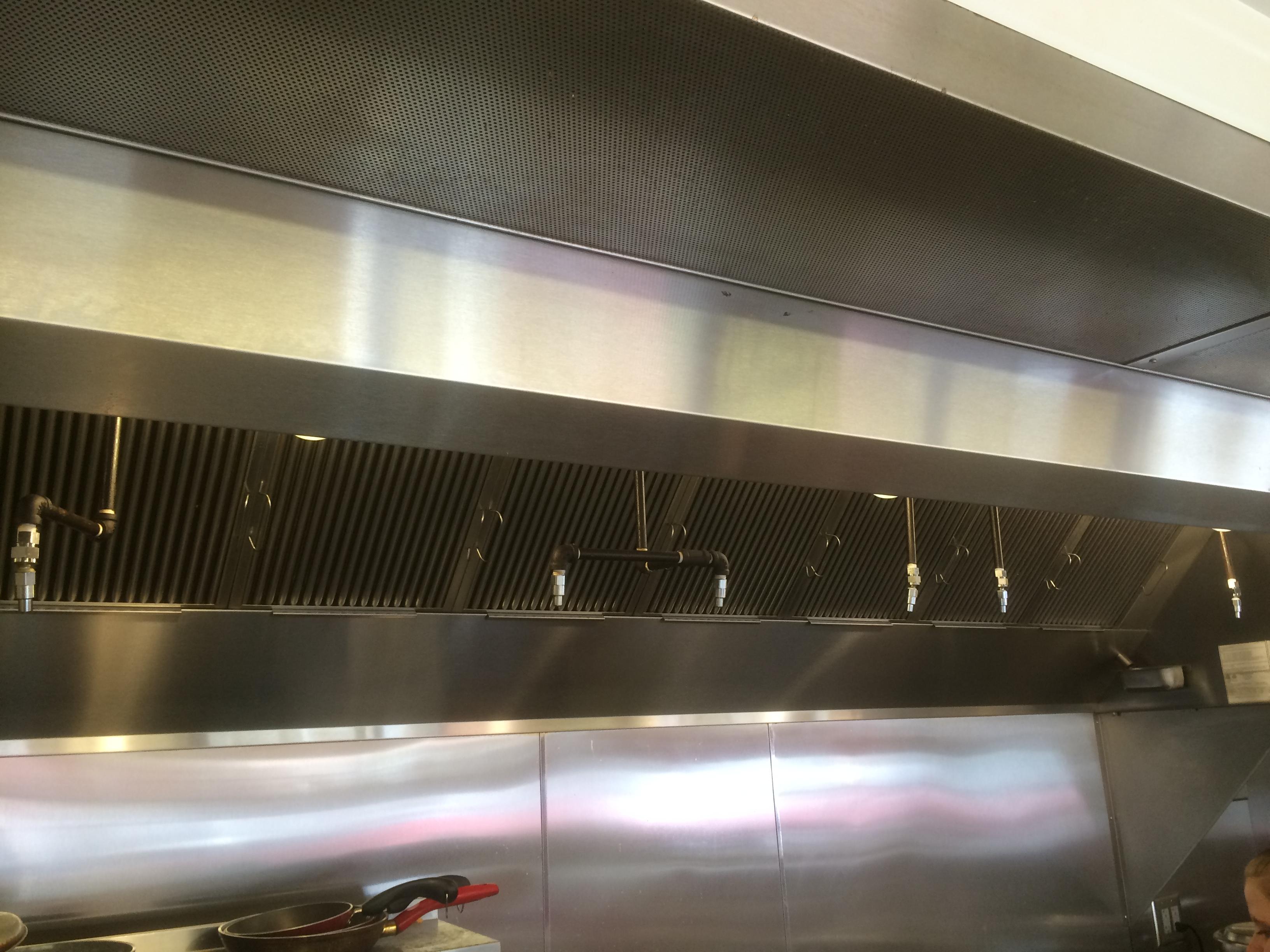 Maidrite Cedar Falls Ia Kitchen Hood Install 1 Beals Sheet Metal