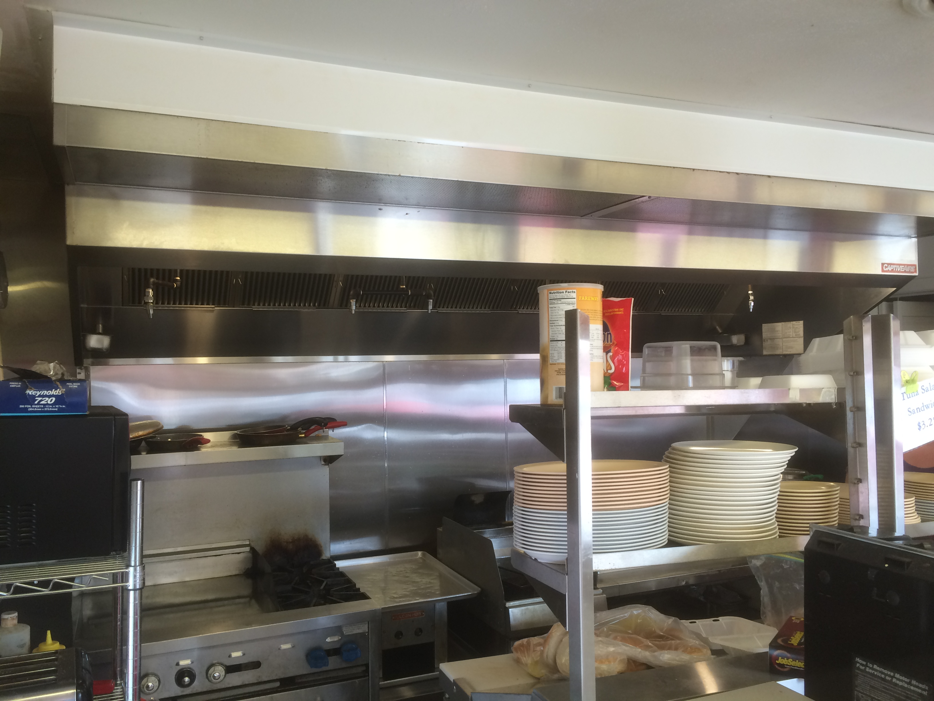 Maidrite Cedar Falls Ia Kitchen Hood Install 3 Beals Sheet Metal